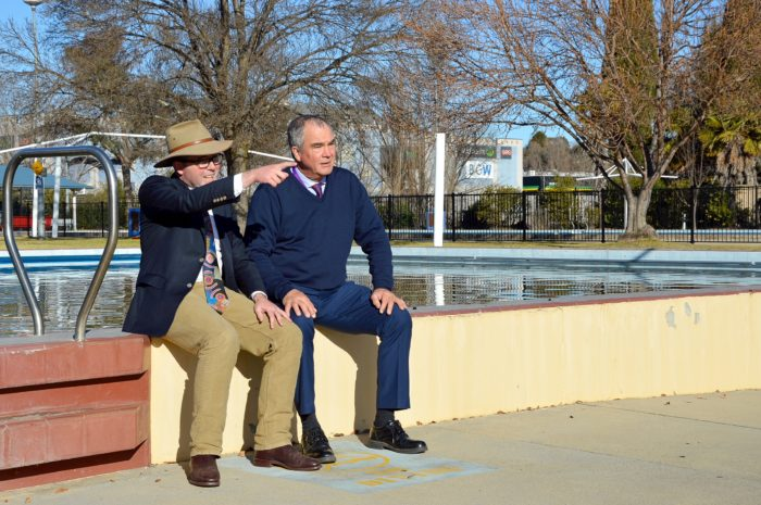 MP DIVES IN WITH BIG PUSH FOR NEW ARMIDALE HYDROTHERAPY POOL