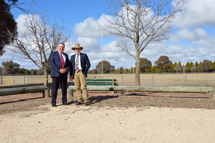MP JOINS COUNCIL IN PUSH FOR URALLA SPORTING COMPLEX UPGRADE