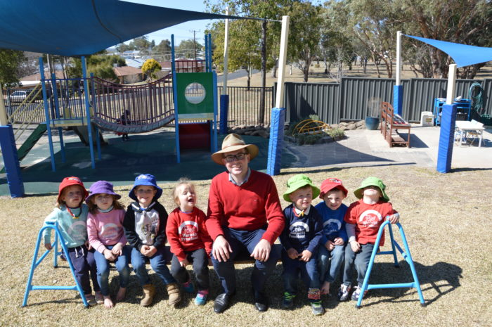 WARIALDA PRESCHOOL RECEIVES $14,950 TO UPGRADE FLOORS
