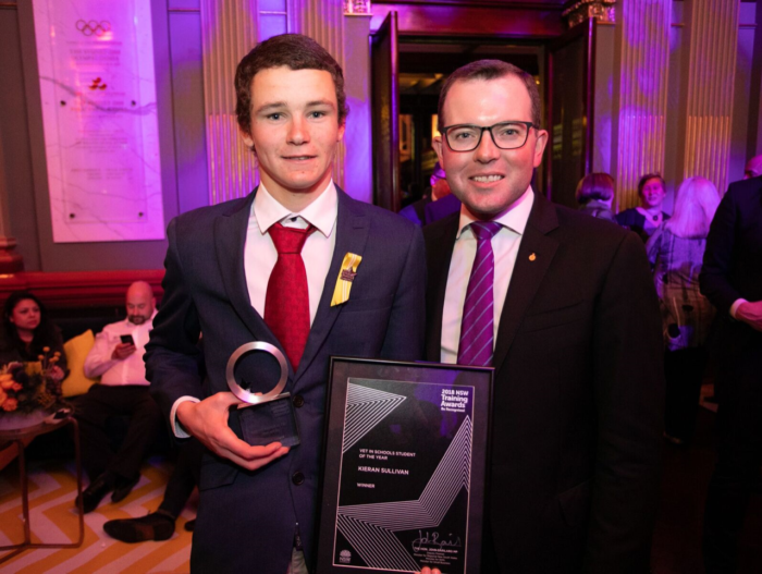 LOCAL STUDENT CLAIMS TOP VET GONG AT NSW TRAINING AWARDS