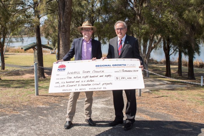 LAKE INVERELL PRECINCT SECURES A $2.2 MILLION BOOST FOR RECREATION