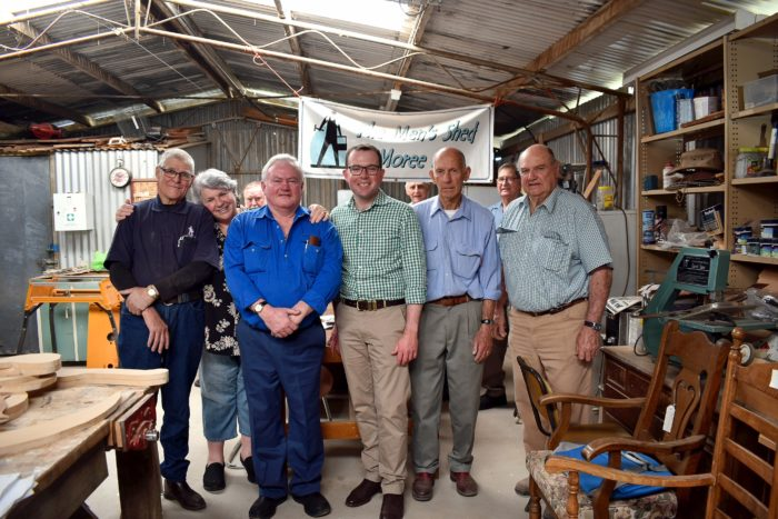 $163,233 DELIVERED FOR NEW MEN'S SHED HOME AT MOREE SHOWGROUND