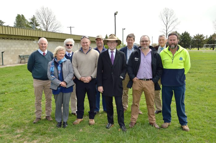 GLEN INNES WILSON PARK ON THE BALL WITH GAME-CHANGING $512,443 GRANT