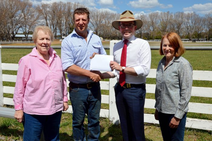 GUYRA SHOWTIME LOOKS BRIGHTER IN 2019 WITH A $5,000 ONE-OFF GRANT