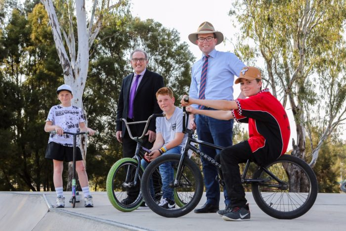 INVERELL NOVICE SKATERS GET A $50,000 BOOST FOR UPGRADED PARK
