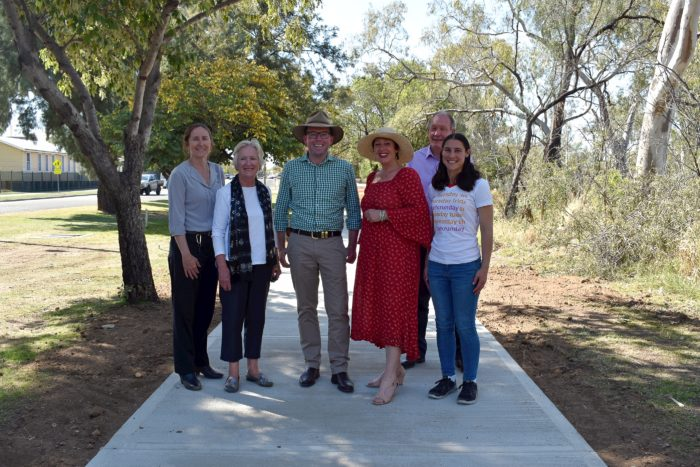 $220,000 MORE TO STRETCH MOREE SHARED PATHWAYS FURTHER