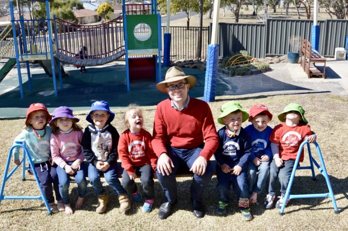 LOCAL PRE SCHOOLS SHARE IN $288,700 FUNDING FOR FAMILY DROUGHT RELIEF