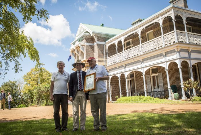 SAUMAREZ HOMESTEAD AWARDED HALL OF FAME TRAVEL STATUS
