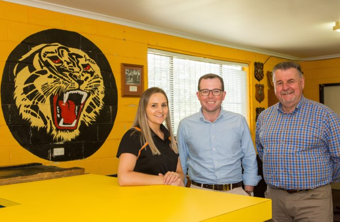URALLA TIGERS' $145,100 CLUBHOUSE RENO IS A MATCH WINNING GAME PLAN