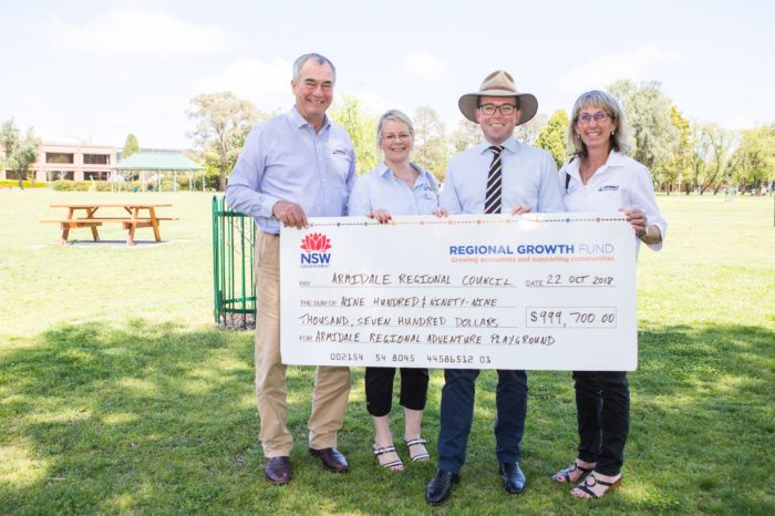 MAGIC MILLION GRANT FOR AN AMAZING ARMIDALE ADVENTURE PLAYGROUND