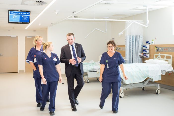 NEW INTENSIVE CARE & DAY SURGEY UNITS OPEN AT ARMIDALE HOSPITAL