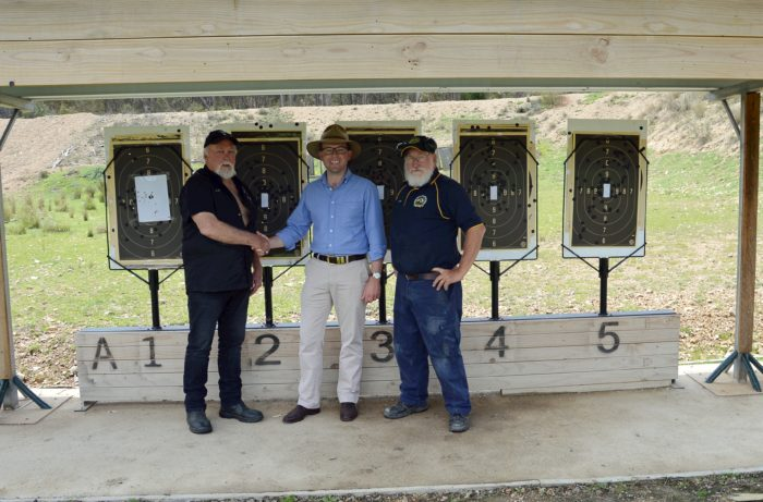$45,210 TO GIVE EMMAVILLE RIFLE RANGE A SHOT AT BIG GUN TITLES