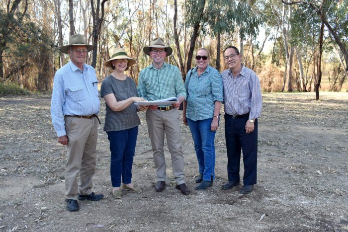 MOREE TRIPLE TREAT WITH $132,000 MAKEOVER FOR BOTANICAL GARDENS