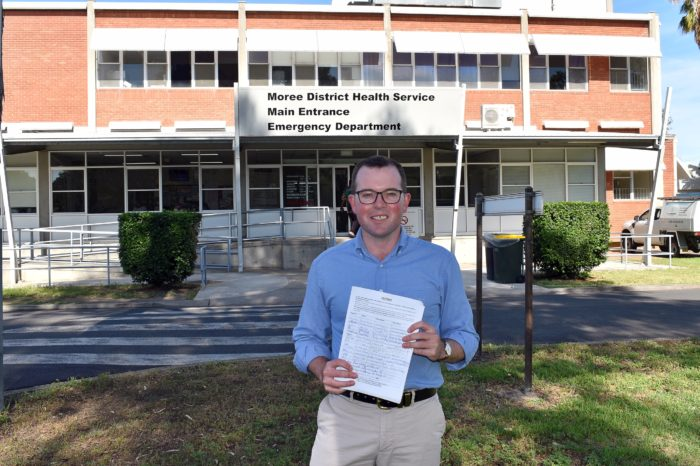 MOREE COMMUNITY URGED TO KEEP SIGNING PETITION FOR NEW HOSPITAL