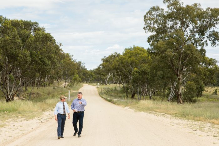 $2 MILLION TO WIDEN & SEAL LAST GRAVEL SECTION OF BINGARA ROAD