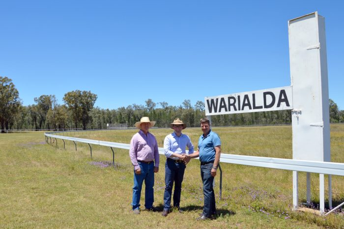 WARIALDA JOCKEY CLUB ON A WINNER WITH $20,000 FOR TRACK YOUTH EVENT