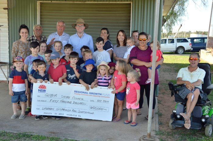 WARIALDA RAIL SPORTSGROUND ON TRACK FOR $50,000 POWER CHARGE