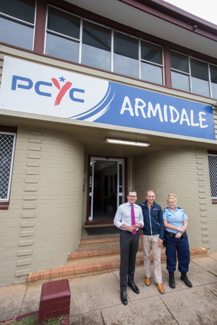 $30,194 GRANT TO HELP SPRUCE UP ARMIDALE PCYC STREETFRONT
