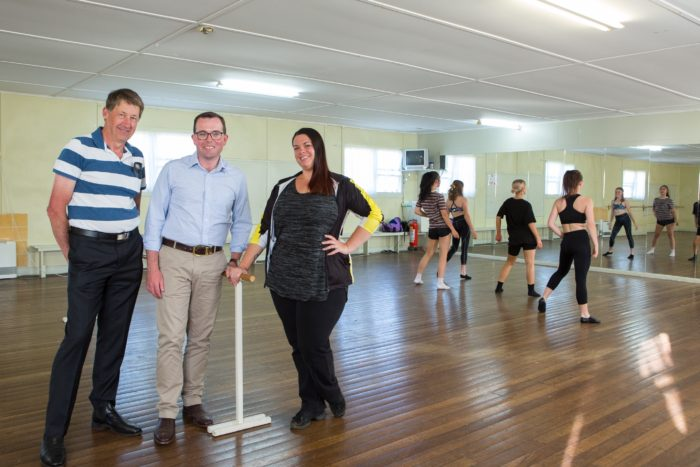 $54,500 GRANT TO JAZZ UP STUDIO SPACE FOR GLEN INNES DANCERS