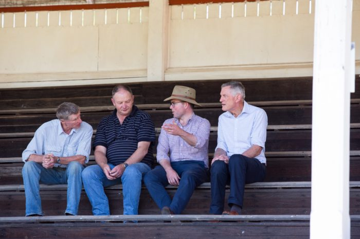 GLEN INNES SHOWGROUND FLUSH WITH FUNDS FOR NEW TOILET BLOCK