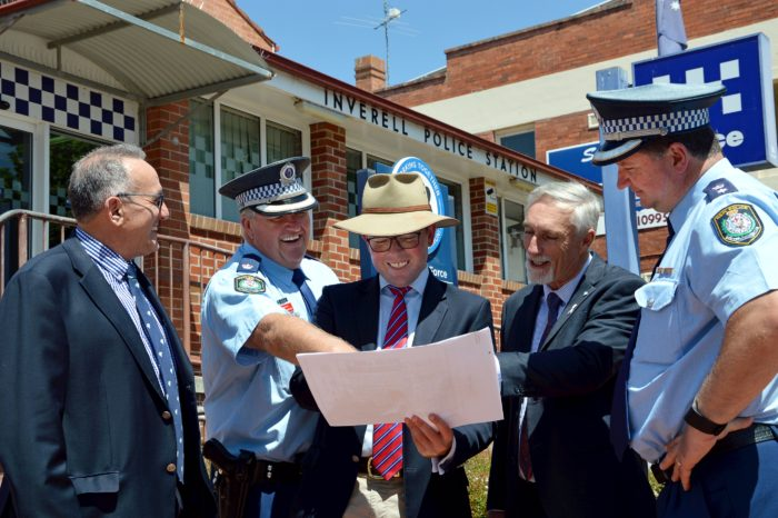 CONCEPT DESIGN UNVEILED FOR NEW $9 MILLION INVERELL POLICE STATION