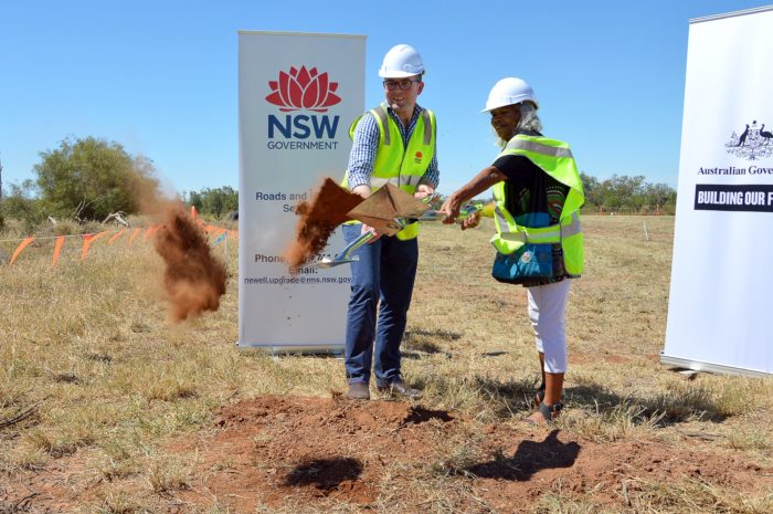 $122 MILLION NEWELL HIGHWAY UPGRADE UNDERWAY SOUTH OF BOGGABILLA