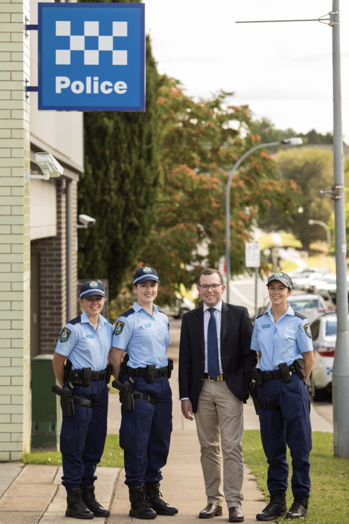 THREE NEW POLICE ON THE BEAT IN ARMIDALE, GLEN INNES & INVERELL