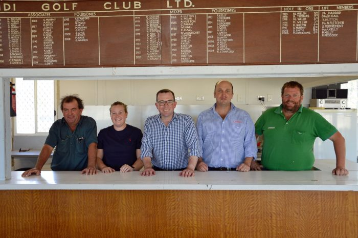 MUNGINDI GOLFERS IMPROVING THEIR 10TH HOLE WITH $26,106 FUNDING