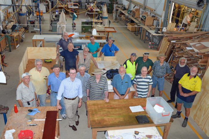 INVERELL MEN'S SHED TO PUT SKILLS TO USE WITH NEW SKILLION EXTENSION