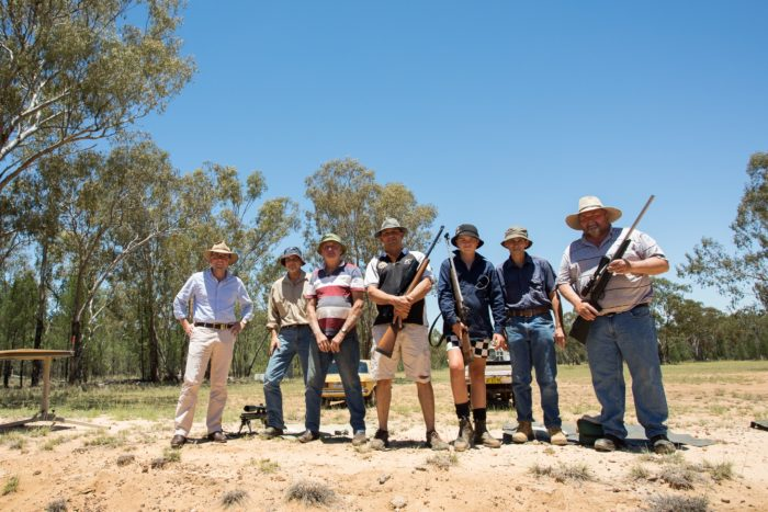 WARIALDA RIFLE CLUB ON TARGET WITH $10,000 TO IMPROVE FACILITIES