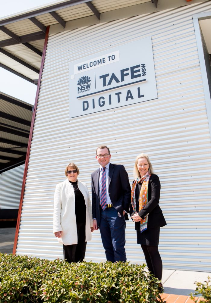 HALF OF ALL NEW TAFE DIGITAL STAFF NEW TO THE REGION