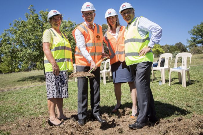 CONSTRUCTION STARTS ON NEW ARMIDALE SECONDARY COLLEGE