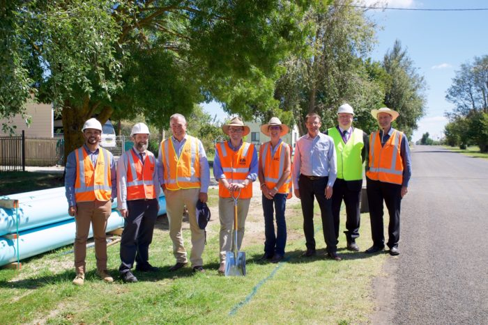 CONSTRUCTION GETS UNDERWAY ON CRTICAL $13 MILLION WATER PIPELINE