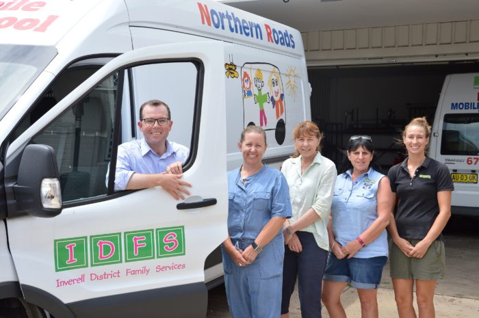 INVERELL'S ACTIVITY VANS FUNDING RACING FOR IMPROVEMENTS