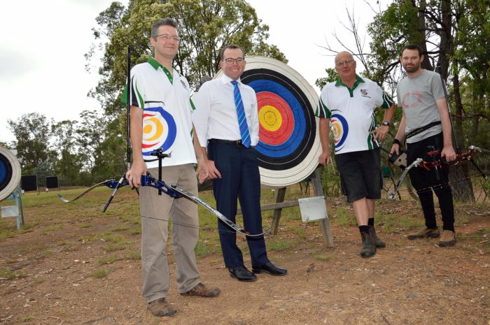 ARMIDALE ARCHERY SETS ITS SIGHTS ON NEW HIGH SECURITY TARGET