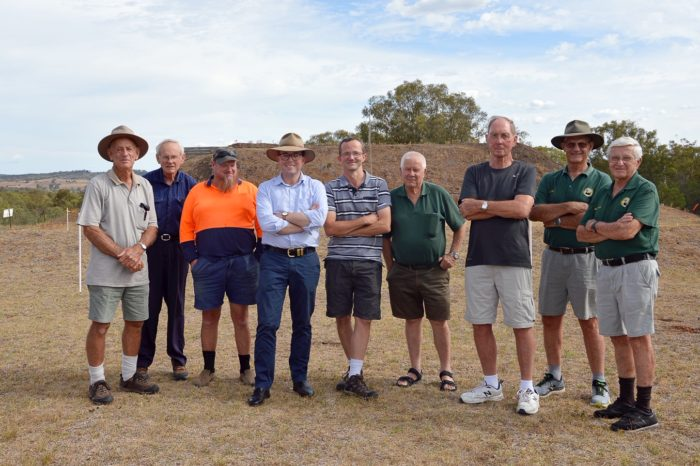 INVERELL RIFLE CLUB DRAWS A BEAD ON $20,000 FOR SAFETY WALL