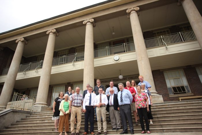 OLD ARMIDALE TEACHERS' COLLEGE SAVED AND COMING BACK HOME