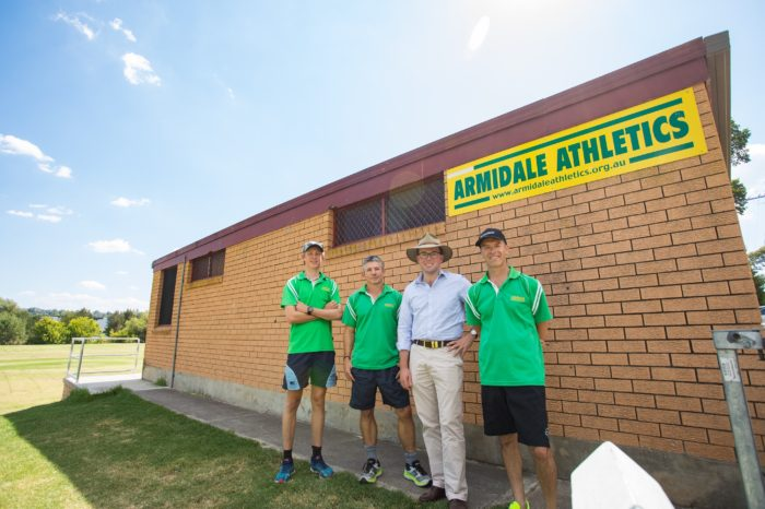 ARMIDALE ATHLETES CHASE DOWN $5,000 FUNDING FIX FOR RUN TIMES