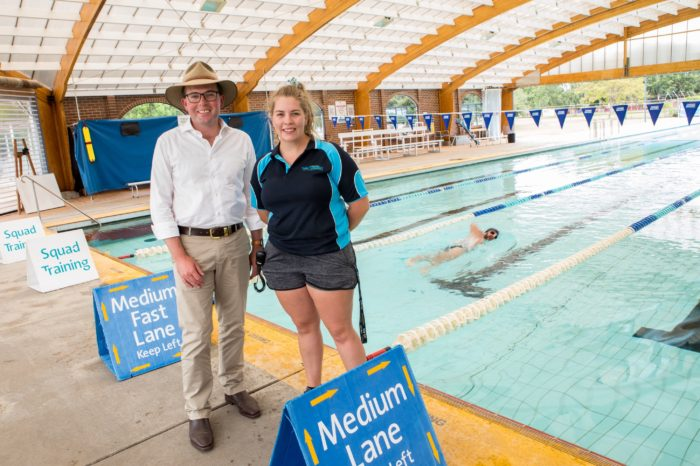 LIFE-SAVING SWIMMING LESSONS FOR KIDS AVAILABLE AT REGION'S POOLS