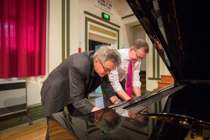CONSERVATORIUM TUNES UP WITH A GRAND $73,786 FOR TWO NEW PIANOS