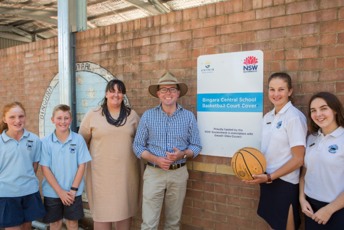 BINGARA SLAM DUNKS UPGRADED COVERED BASKETBALL COURT