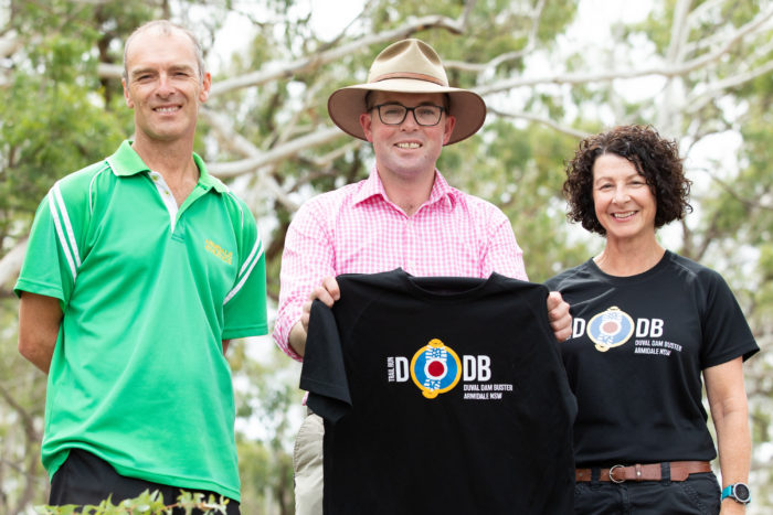 $20,000 PROVIDES A DUVAL DAM BUSTER BOOST TO TOURISM AND FITNESS