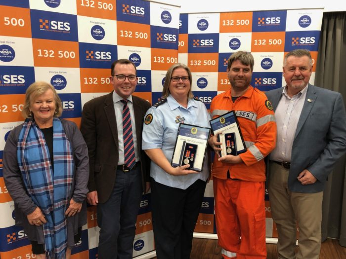 ARMIDALE, GLEN INNES & GUYRA SES VOLUNTEERS AWARDED FOR SERVICE