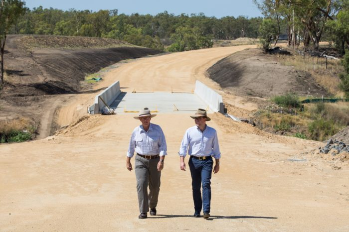 BRIDGE TO GWYDIR HIGHWAY COMPLETE ON WARIALDA HEAVY VEHICLE BYPASS