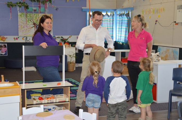 $5,000 ONE-OFF GRANT FOR BUNDARRA PRESCHOOL PLAYGROUND UPGRADE