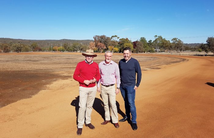 CONSTRUCTION ON NEW INVERELL OFF-ROAD CRITERIUM CIRCUIT ROLLS ON