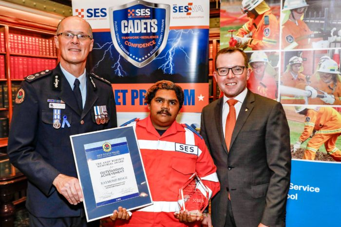 TWO YOUNG EMERGENCY SERVICE VOLUNTEERS RECEIVE STATE AWARDS