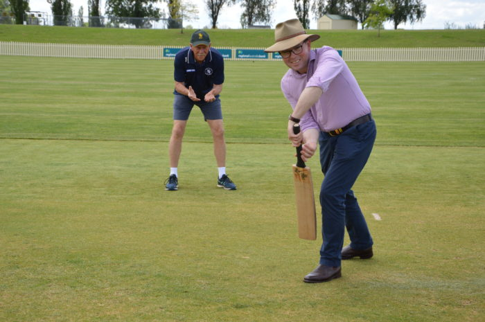 GRANTS TO UPGRADE LOCAL CRICKET FACILITIES BACK FOR A SECOND SPELL