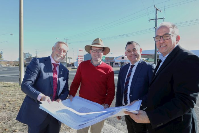 $2.2 MILLION FOR NEW ROUNDABOUT TO IMPROVE SAFETY IN INVERELL