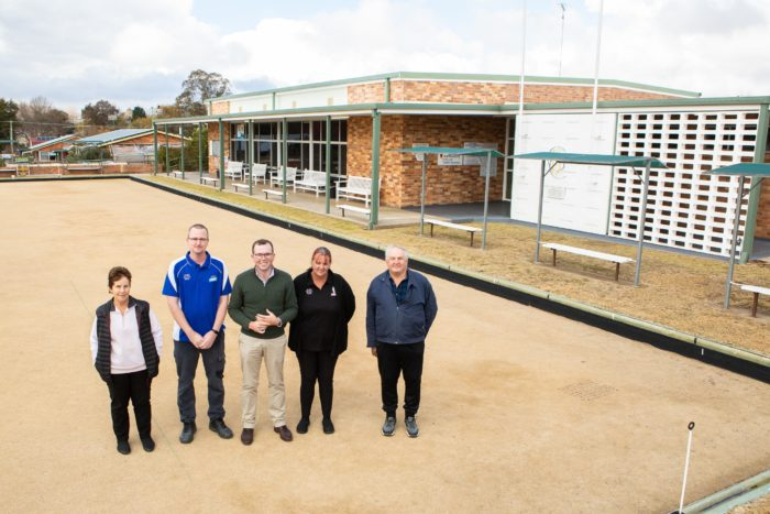 NEW ROOF MEANS NO MORE LEAKS AT GLEN INNES BOWLING CLUB